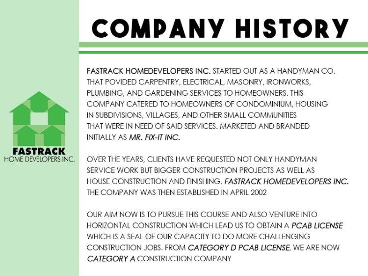 + Company History